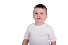 Stolzer Junge stockfoto