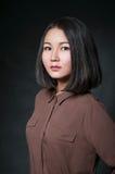 Stolzes asiatisches Mädchen der Schönheit Stockbilder