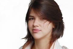Stolzes Mädchen Stockfoto