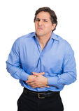 Stomach ache Stock Photography