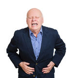 Stomach ache Royalty Free Stock Photo
