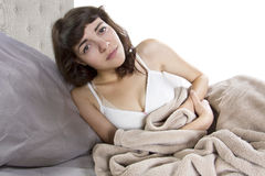 Stomach Cramps Stock Photography