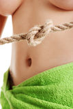 Stomach issues concept Stock Images