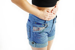 Stomach issues Royalty Free Stock Photography