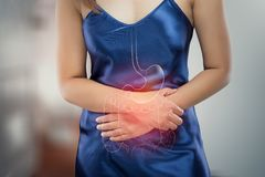 Stomachache stock photography