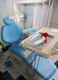 Stomatologic armchair Stock Images