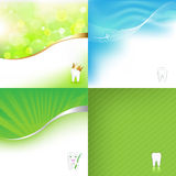 Stomatologic Background. Vector Royalty Free Stock Photo