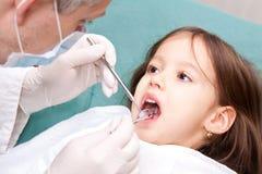 stomatologic konsultation Arkivbilder