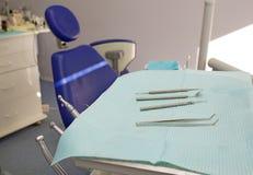 stomatologiczni narzędzia Obrazy Stock