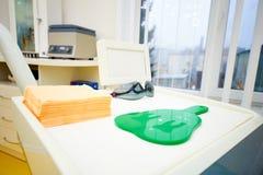 Stomatologiczny biuro, stomatologiczny traktowanie, zdrowia zapobieganie fotografia royalty free