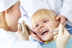 stomatologiczny egzamin Zdjęcia Royalty Free