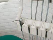 STOMATOLOGICZNY instrument: ŚCIŚNIĘTY AIR/IRRIGATION wody NOZZLE Obrazy Royalty Free