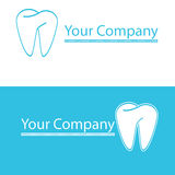 stomatologiczny logo Obrazy Stock
