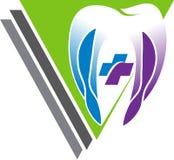 Stomatologiczny logo royalty ilustracja