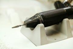 Stomatologiczny mikro silnik fotografia stock