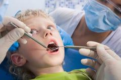 stomatologiczny traktowanie Obrazy Royalty Free