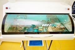 Stomatologiczny wyposażenie, dentystyka, urządzenia medyczne dla traktowania i przywrócenie zęby, fotografia royalty free