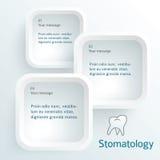 Stomatologiczny ząb Obraz Royalty Free