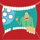Stomatologist del doctor Fotografía de archivo libre de regalías