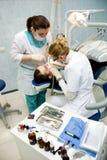 Stomatology. Medical stomatological treatment at the dentist office stock images