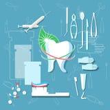 Stomatology dental concept Royalty Free Stock Image