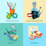 Stomatology Design Concept Royalty Free Stock Photos