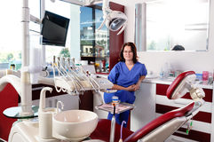Stomatology doctor portrait Royalty Free Stock Images
