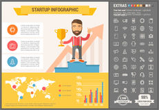 Free Stomatology Flat Design Infographic Template Royalty Free Stock Photos - 59327338
