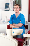 Stomatology manipulerar ståenden royaltyfri foto