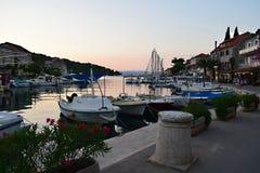 Stomorskaeiland solta-Kroatië royalty-vrije stock foto