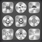 Stomp, spruit, sneeuwval, beschermings het overzeese leven, beschermingsaard, Royalty-vrije Stock Fotografie
