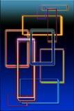 Stompe grafische samenstelling. Stock Fotografie