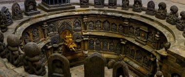Ston carft fontein Royalty-vrije Stock Afbeeldingen