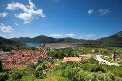 Ston. Croacia imagen de archivo libre de regalías