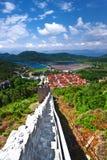 Ston. Croatia. Royalty Free Stock Photos