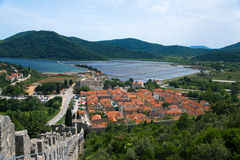 Ston, Croatia Imagens de Stock Royalty Free
