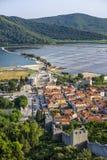 Ston, Dalmatia stock image