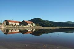 Ston Salt Mine. In Ston, Dubrovnik, Croatia Royalty Free Stock Image