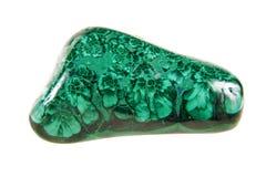 Ston verde de la malaquita fotografía de archivo