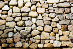 Ston wall background Stock Images