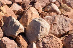 Stone ή βράχος στο υπόβαθρο και τη σύσταση πατωμάτων Στοκ Εικόνες