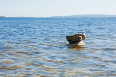 Stone ανωτέρω - νερό Στοκ Φωτογραφία