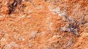 Stone, βράχος με την καφετιά σύσταση απόχρωσης, εκλεκτική εστίαση Για το υπόβαθρο, σκηνικό, υπόστρωμα, χρήση σύνθεσης Στοκ Φωτογραφία