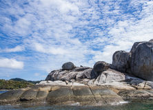 Stone και μπλε ουρανός στοκ φωτογραφία με δικαίωμα ελεύθερης χρήσης
