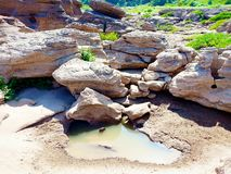 Stone και το ξηρό κλίμα στοκ εικόνες με δικαίωμα ελεύθερης χρήσης