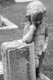 Stone με το γλυπτό Στοκ φωτογραφία με δικαίωμα ελεύθερης χρήσης