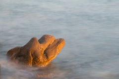 Stone στη θάλασσα Στοκ Εικόνα