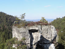 Stone στο Βοημίας παράδεισο Στοκ Εικόνες