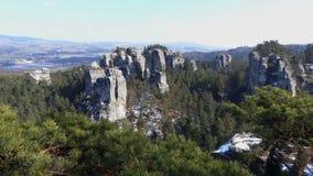 Stone στο Βοημίας παράδεισο Στοκ φωτογραφίες με δικαίωμα ελεύθερης χρήσης