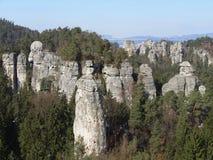 Stone στο Βοημίας παράδεισο Στοκ εικόνες με δικαίωμα ελεύθερης χρήσης